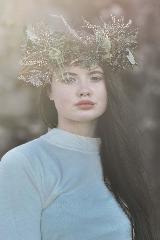 Bride Bridal Flower Crown Make Up Game Of Thrones Wedding Tara Florence