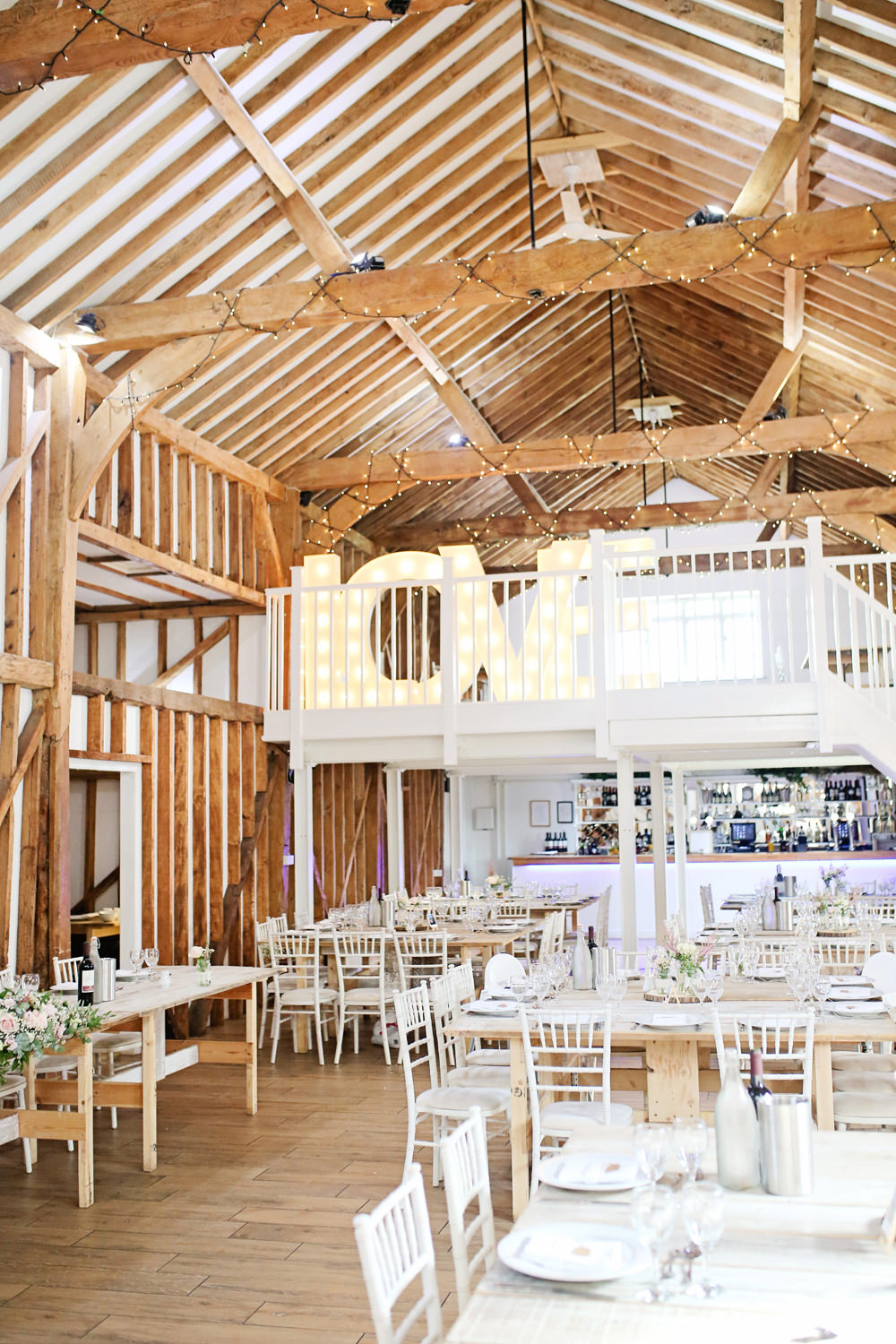 Love Letter Lights Milling Barn Wedding Victoria Mitchell Photography