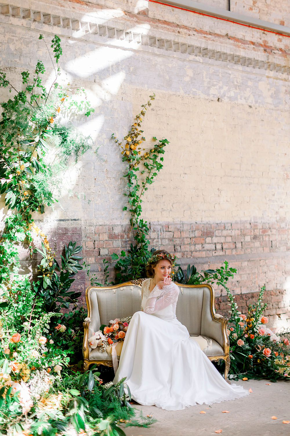 Natural Boho Industrial Wedding Ideas Jo Bradbury Photography