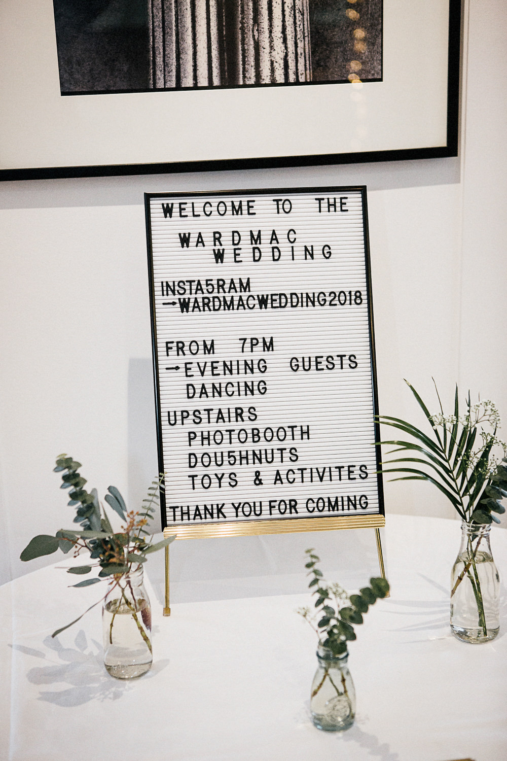 Peg Board Sign Orleans House Gallery Wedding My Beautiful Bride Photography