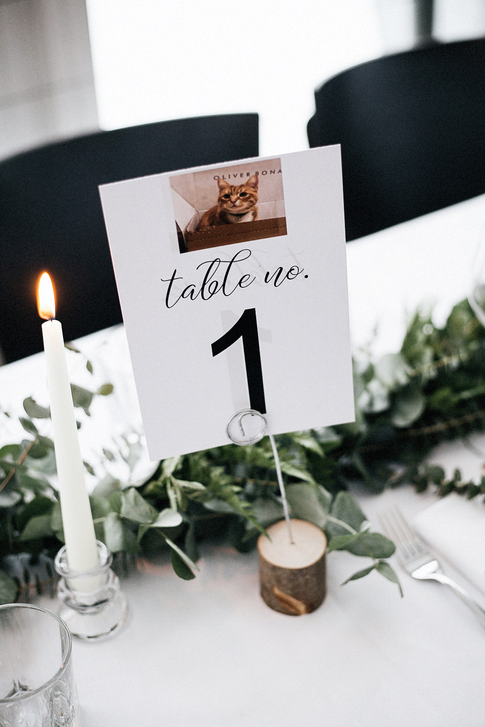 Table Number Log Stand Orleans House Gallery Wedding My Beautiful Bride Photography