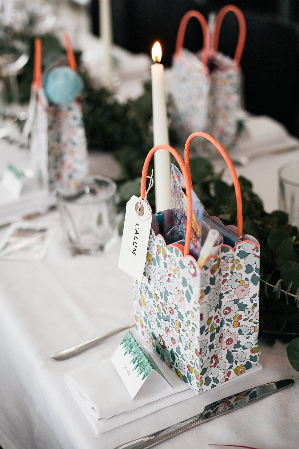 Favour Goodie Bags Orleans House Gallery Wedding My Beautiful Bride Photography