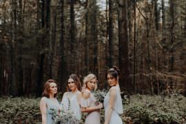 Bridesmaids Bridesmaid Dresses Pastel Dress Outdoor Woodland Wedding Ideas Geometric Meraki Wedding Photography