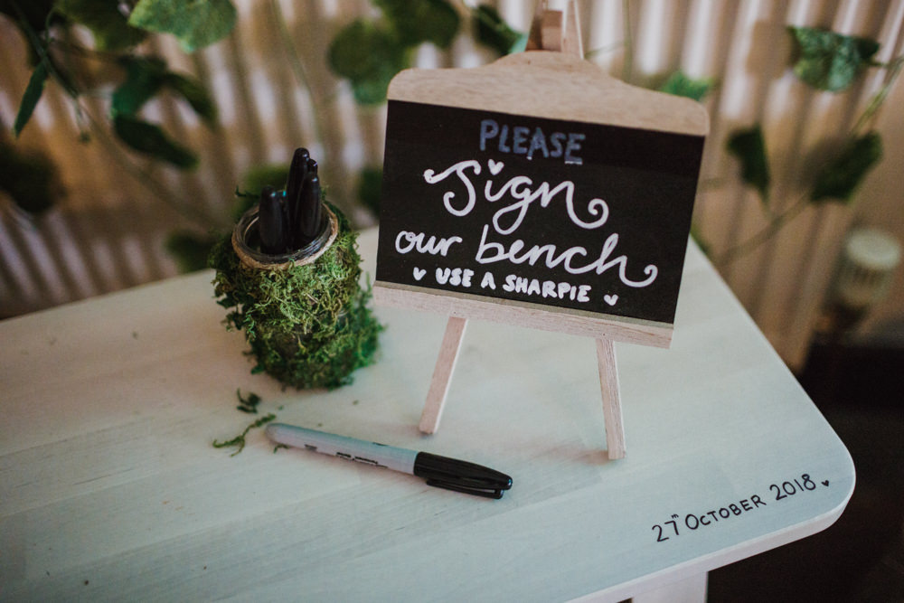 Wish Wishes Box Frame Guest Book Bench Guest Book Ox Pasture Hall Wedding Photography34
