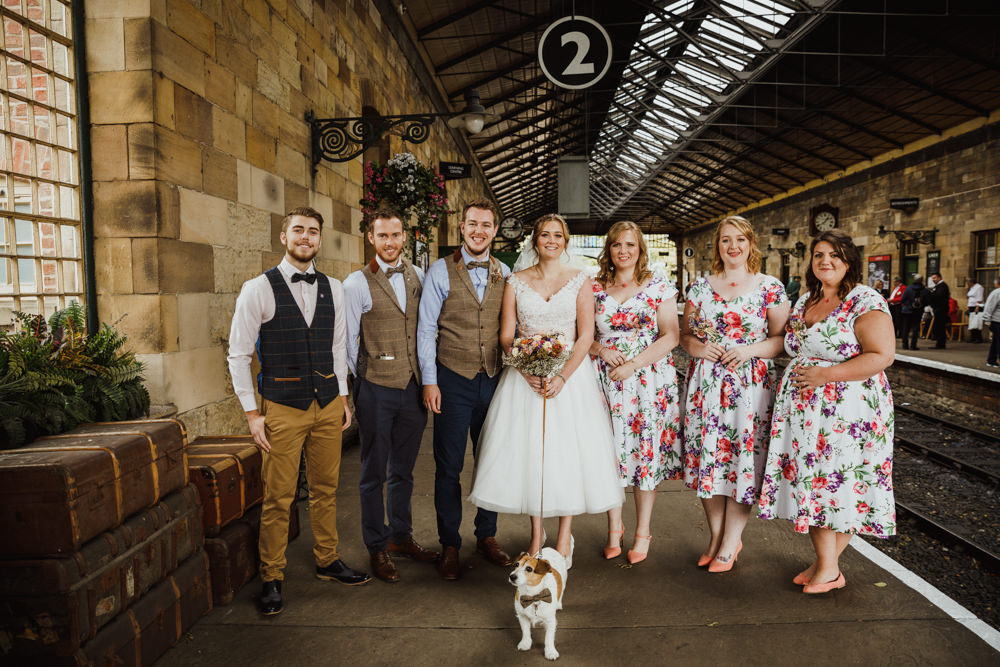 Train Station Harry Potter Wedding Photography34