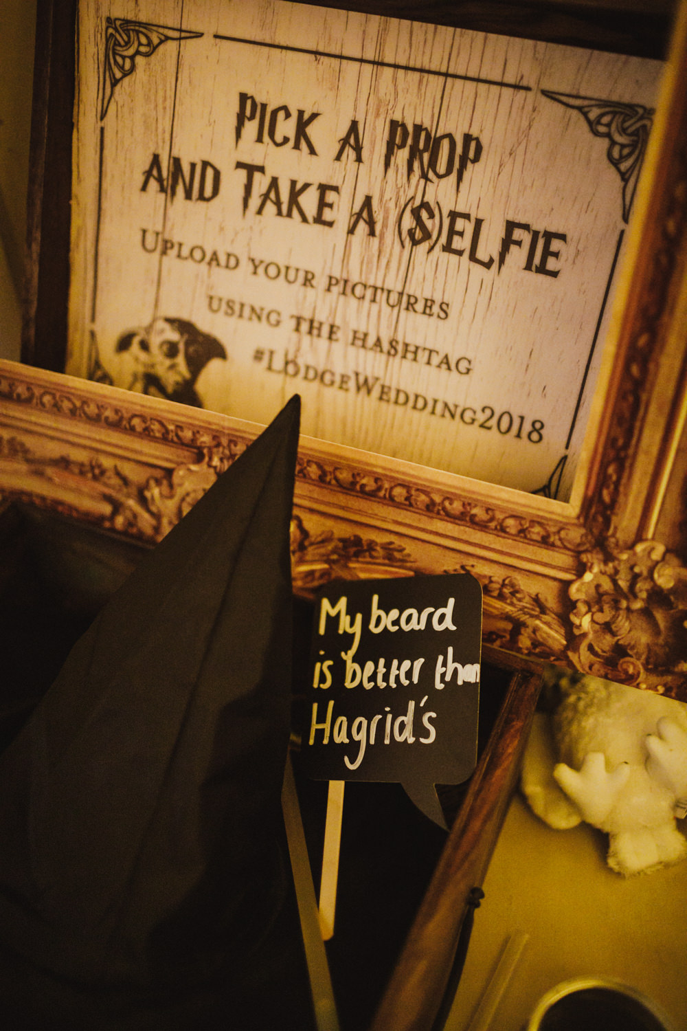 Photo Booth Train Station Harry Potter Wedding Photography34