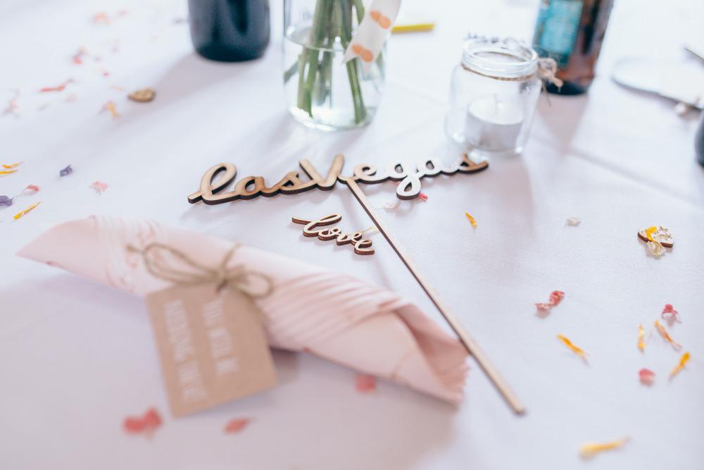 Laser Cut Wooden Props Signs Village Hall Wedding Samantha Kay Photography