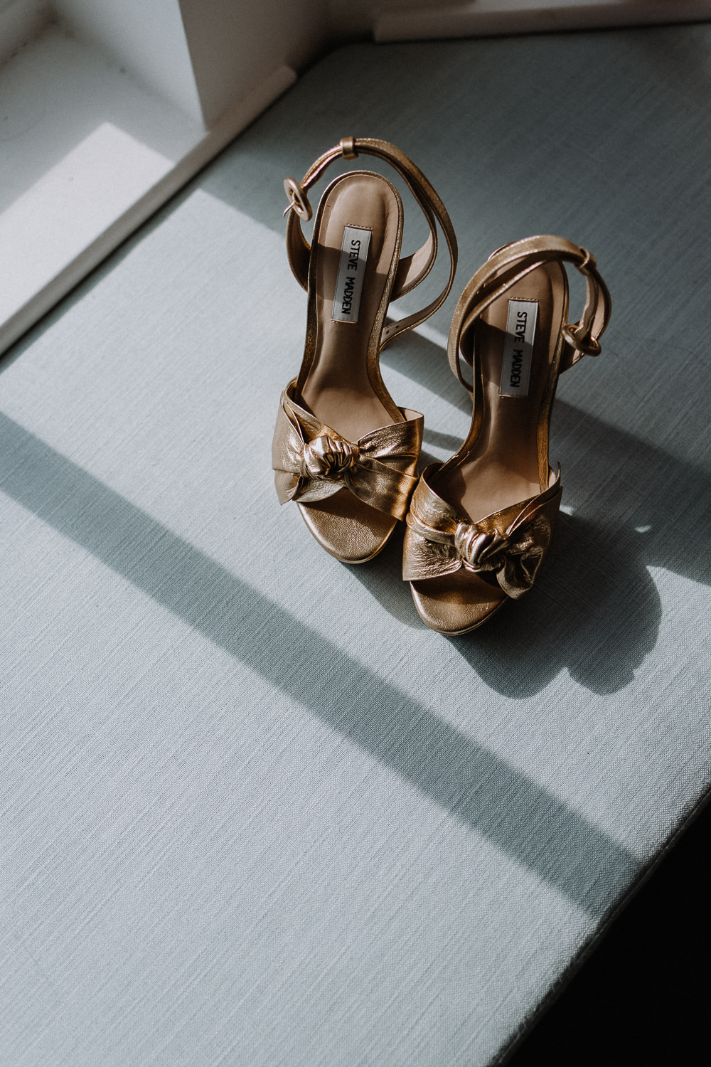 Gold Platforms Shoes Bride Bridal Botanical Industrial Wedding Caitlin and Jones Photography