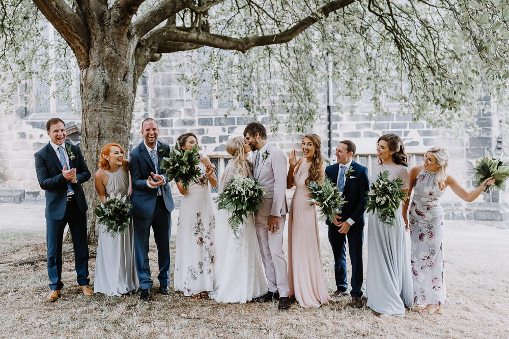Botanical Industrial Wedding Caitlin and Jones Photography