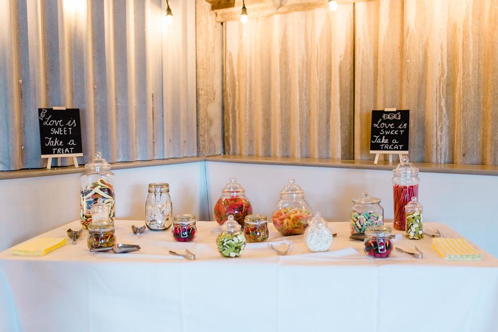 Sweet Table Easel Chalk Board Miniature Creative Summer Wedding Gemma Giorgio Photography