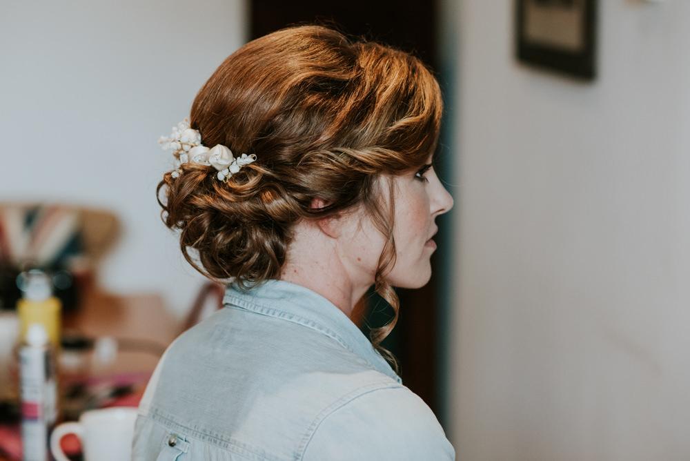 Bride Bridal Up Do Twist Curls Hair Edwardian Inspired Wedding Daniel Ackerley Photography