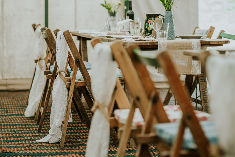 Marquee Lace Chair Backs Edwardian Inspired Wedding Daniel Ackerley Photography