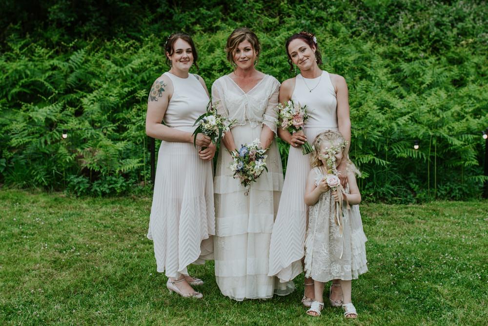 Natural & Magical Edwardian Inspired Woodland Wedding