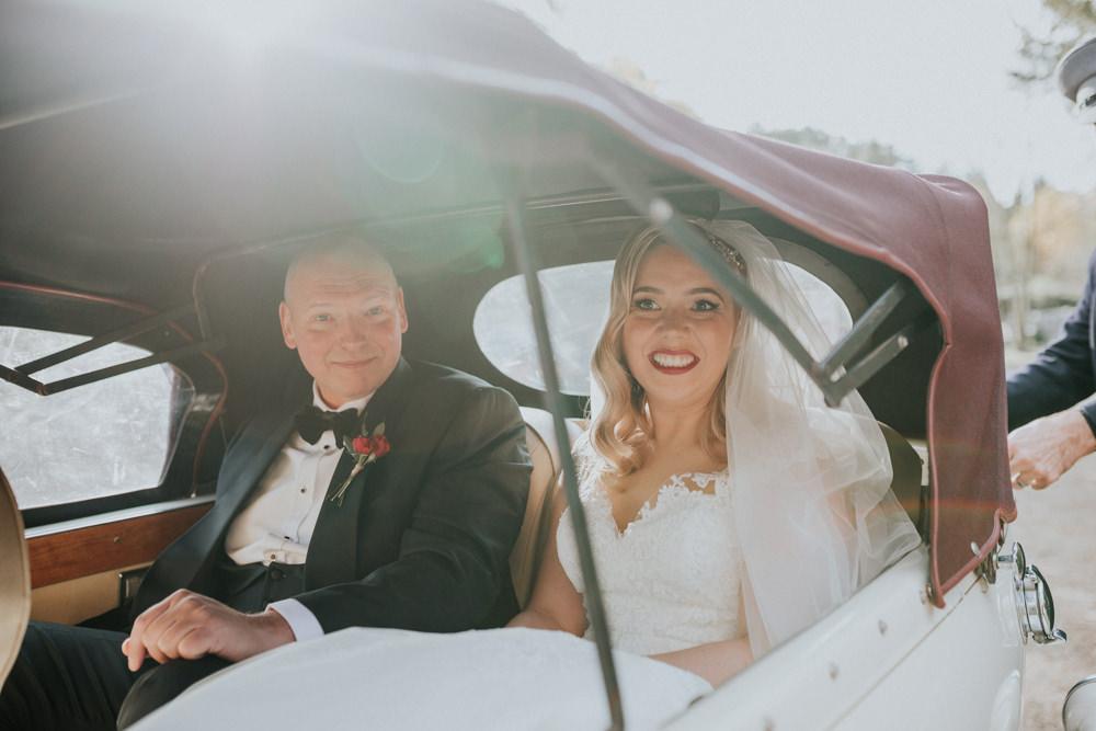 Bride Bridal Cap Sleeve Lace Overlay Dress Gown Veil Gaynes Park Wedding Kate Gray Photography