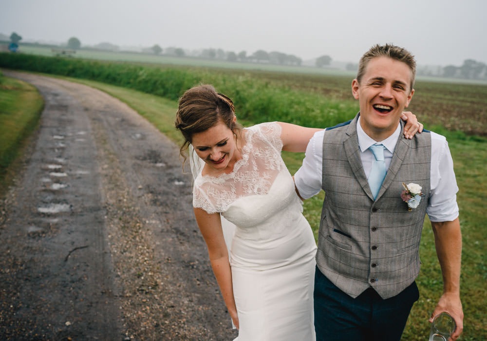 Groom Suit Tweed Waistcoat Holkham Hall Wedding Luis Holden Photography