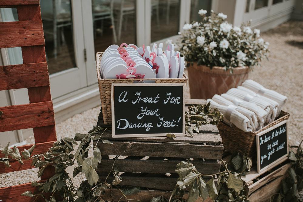 Flip Flops Millhouse Wedding Louise Scott Photography
