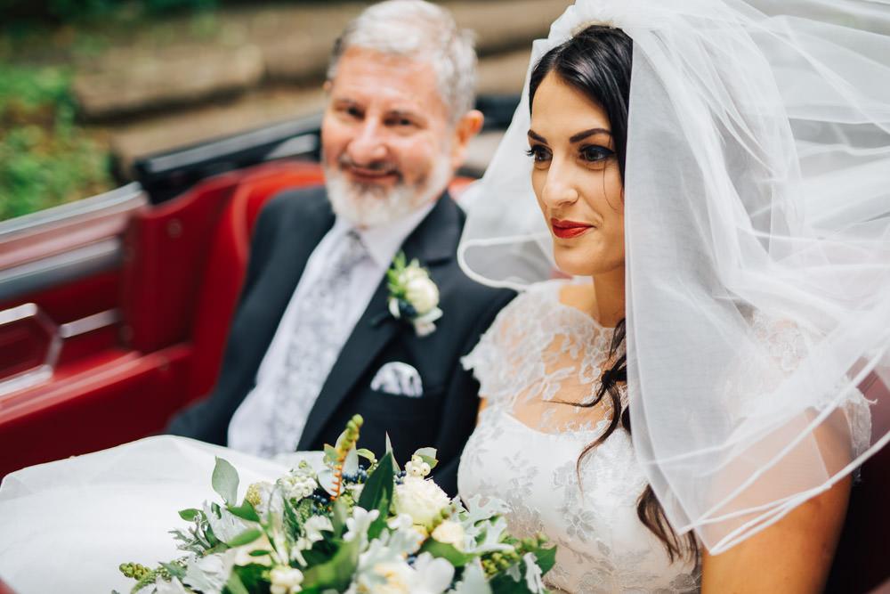 Bride Bridal Veil Monmouth Priory Wedding Loveseen Photography