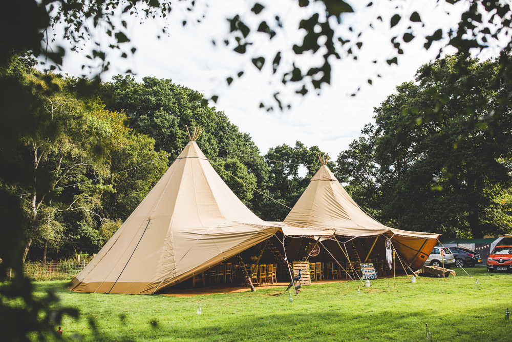 Tipi Moors Valley Country Park Wedding Livvy Hukins Photography