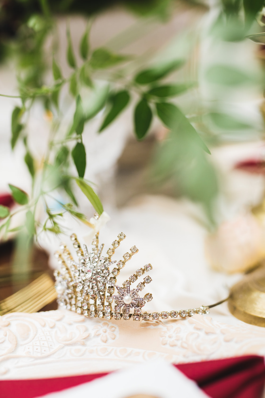 Bride Bridal Crown Tiara Accessory 1910 Orangery Wedding Ideas Cat Lane Weddings