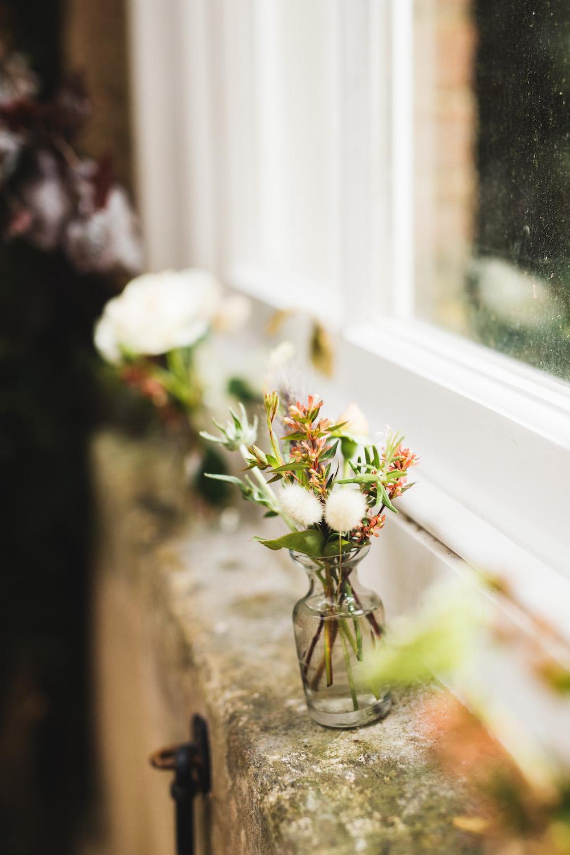 Bottle Flowers Decor Orangery Wedding Ideas Cat Lane Weddings