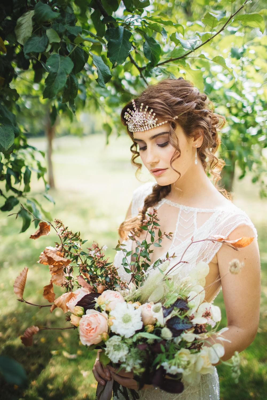Bride Bridal Hair Make Up Orangery Wedding Ideas Cat Lane Weddings