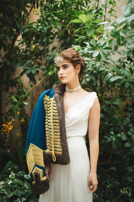 Bride Bridal Dress Gown Grecian Jacket Orangery Wedding Ideas Cat Lane Weddings