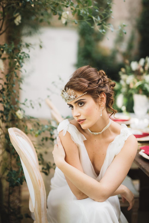 Bride Bridal Hair Up Do Style Orangery Wedding Ideas Cat Lane Weddings