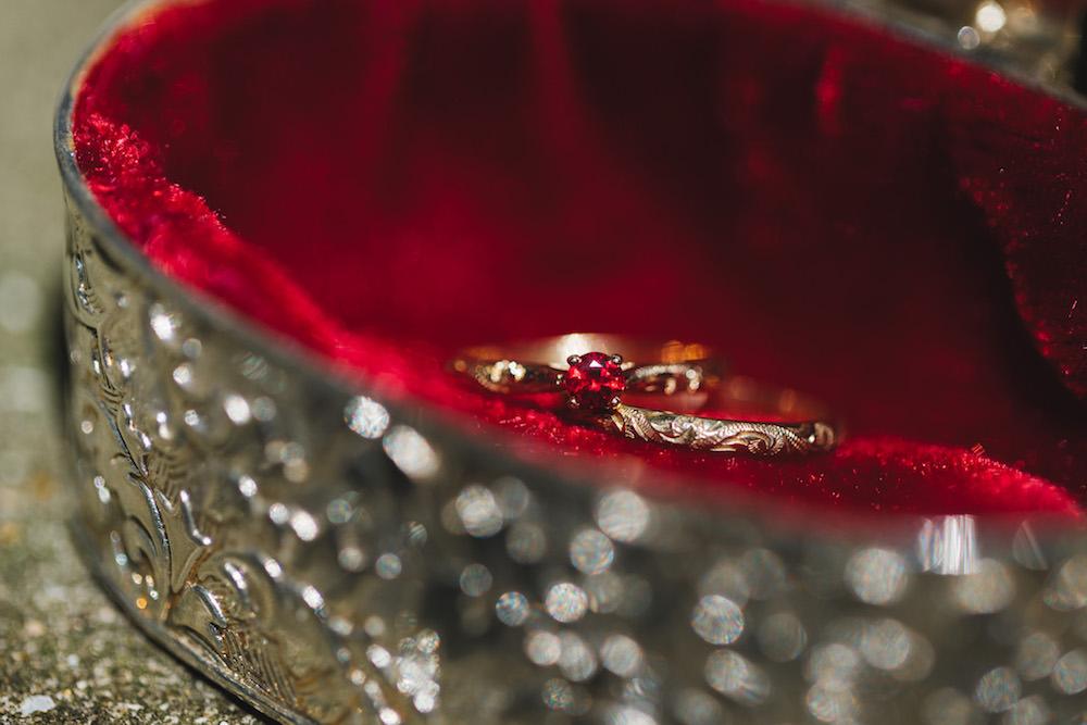 Ruby Engagement Ring Orangery Wedding Ideas Cat Lane Weddings
