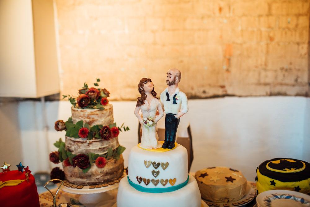 Bride Groom Cake Topper Paintworks Wedding Matt Willis Photography