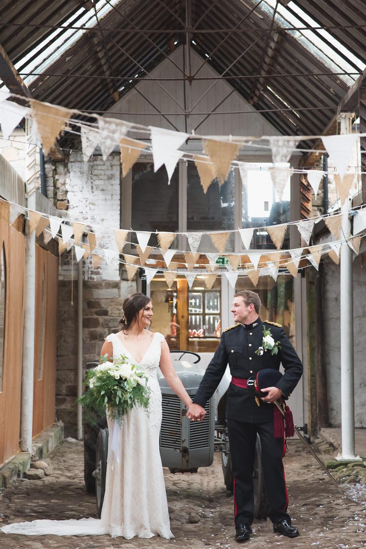 Wyresdale Park Wedding Beautiful Barn Wedding With Abundant