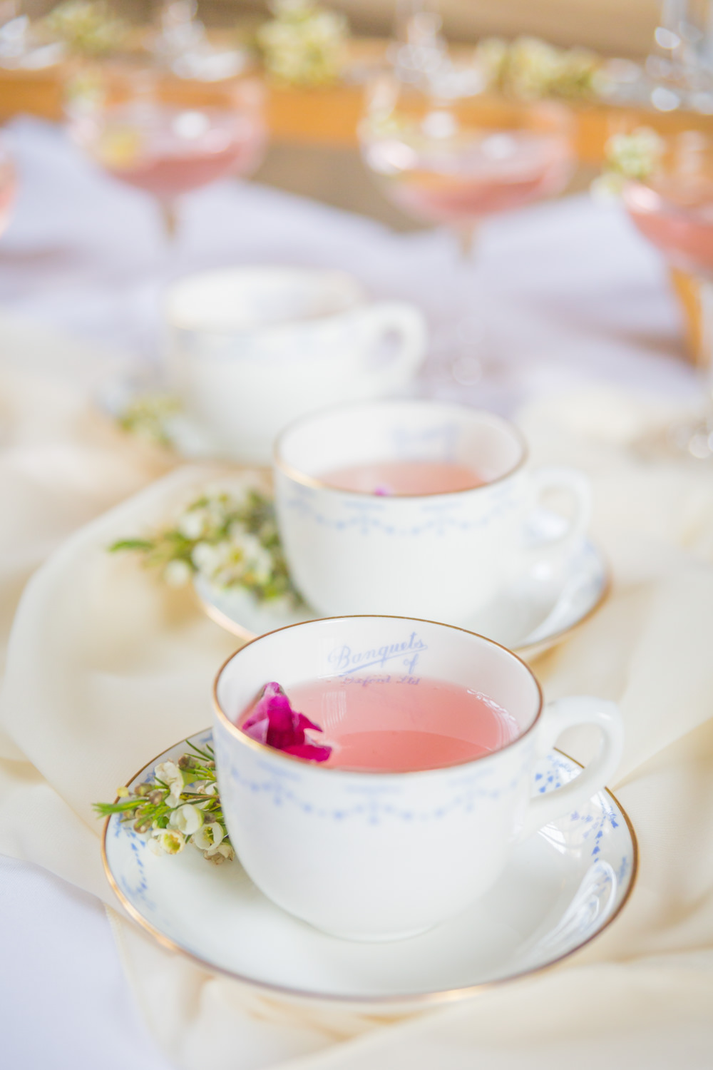 Teacup Cocktail Bodleian Library Wedding Anita Nicholson Photography