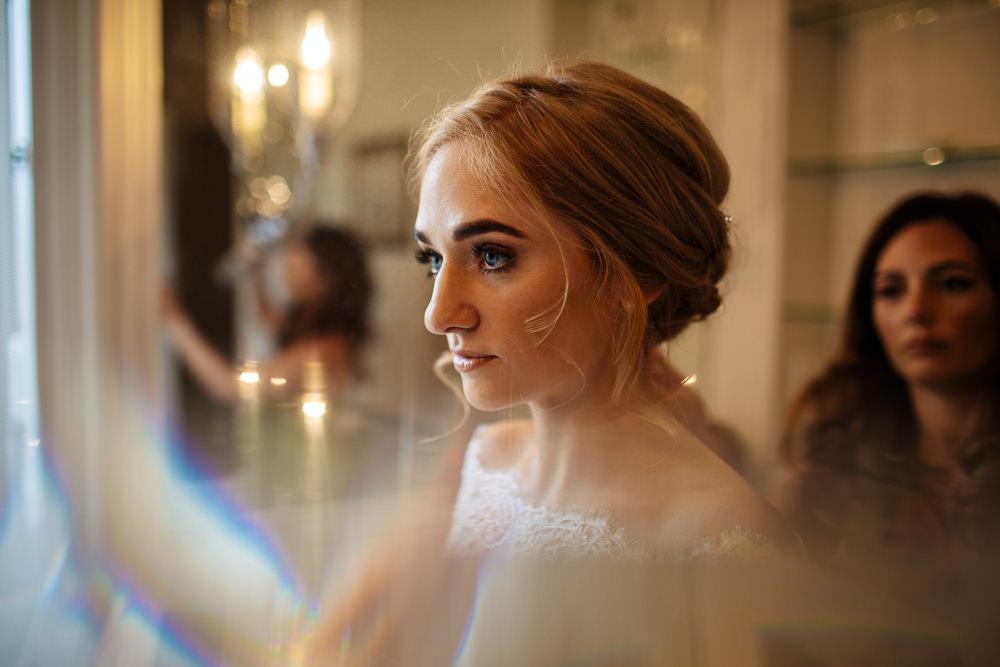 Bride Bridal Make Up Cowdray House Wedding Matt Sim Photography