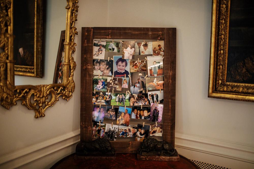 Photo Photograph Wall Frame Cowdray House Wedding Matt Sim Photography