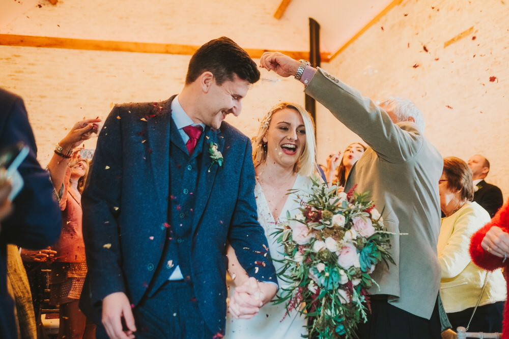 Confetti Dorfold Hall Wedding Kate McCarthy Photography