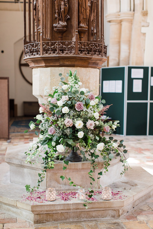Church Flowers Arrangement Granary Estates Wedding Terri & Lori Fine Art Photography and Film Studio
