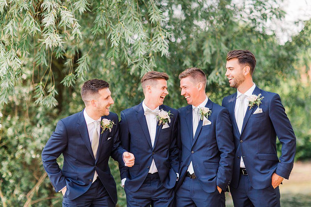 Groom Suit Bow Tie Navy Groomsmen Granary Estates Wedding Terri & Lori Fine Art Photography and Film Studio