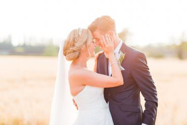 Super Pretty Country Barn Summer Wedding