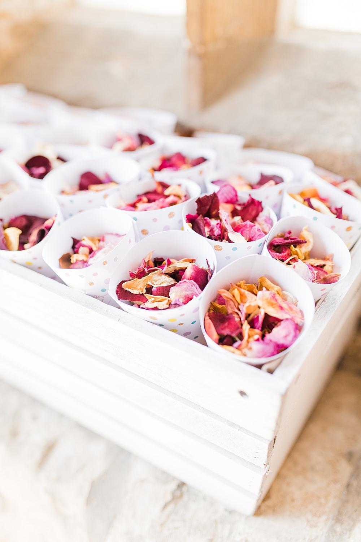 Confetti Cones Crate Granary Estates Wedding Terri & Lori Fine Art Photography and Film Studio