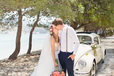 Magical & Colourful Kefalonia Destination Wedding