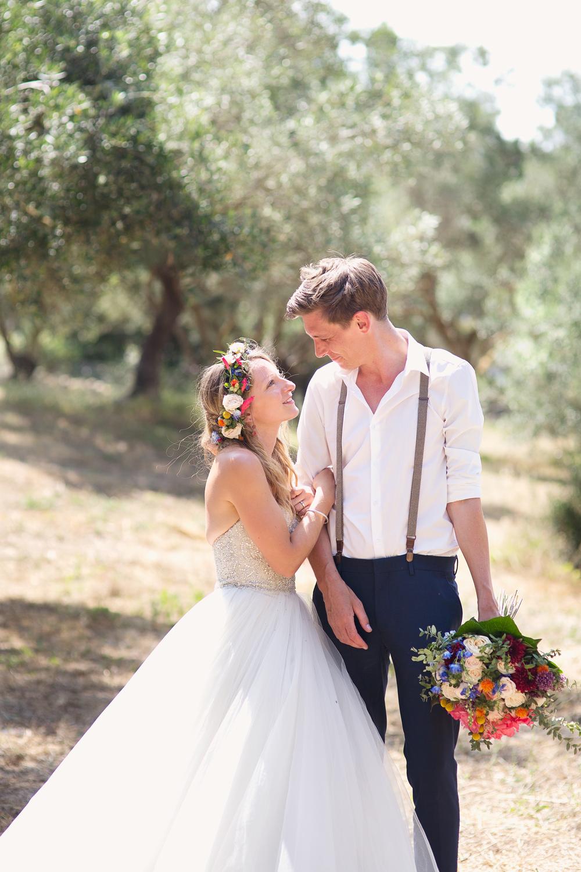 Groom Braces Shirt Chinos Kefalonia Wedding Cotton Candy Weddings