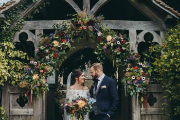 Beautiful Boho Chic Wedding with Stunning Flowers