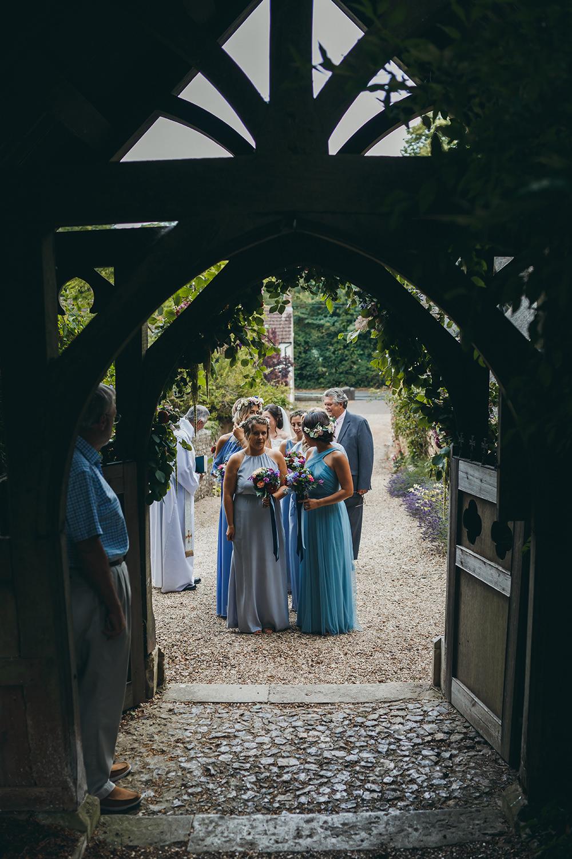 Bridesmaids Bridesmaid Dress Dresses Blue Flower Girls Kingsettle Stud Wedding Mark Tattersall Photography