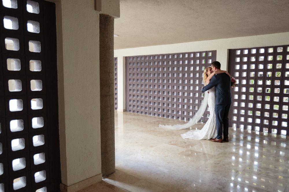 First Look Los Cabos Wedding Anna Gomes Photo