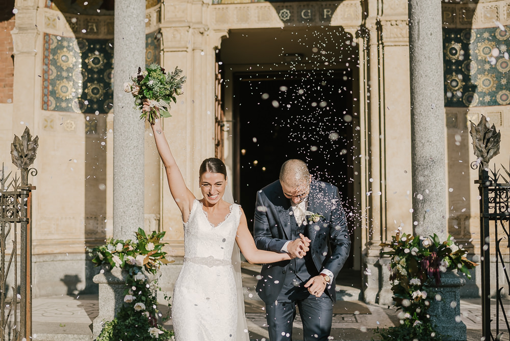 Confetti Milan Wedding Rossella Putino Photographer