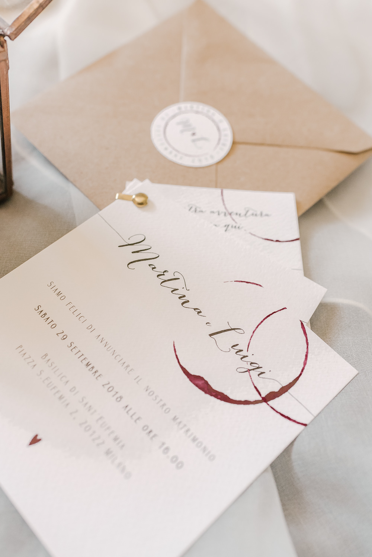 Stationery Invites Invitations Calligraphy Milan Wedding Rossella Putino Photographer