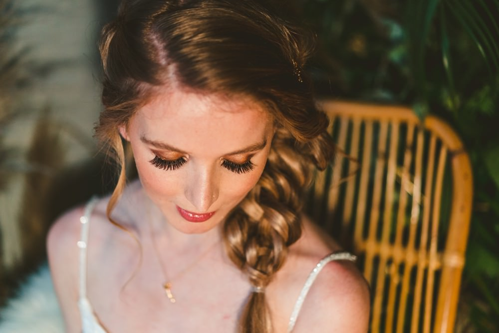 Make Up Bride Bridal Beauty Pampas Grass Wedding Ideas Tim Stephenson Photography