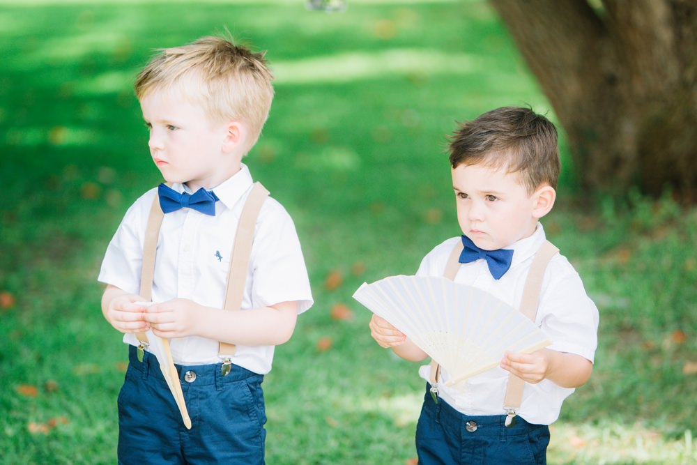 Page Boys Shorts Bow Tie Braces Saint Tropez Wedding Sophie Boulet Photographe