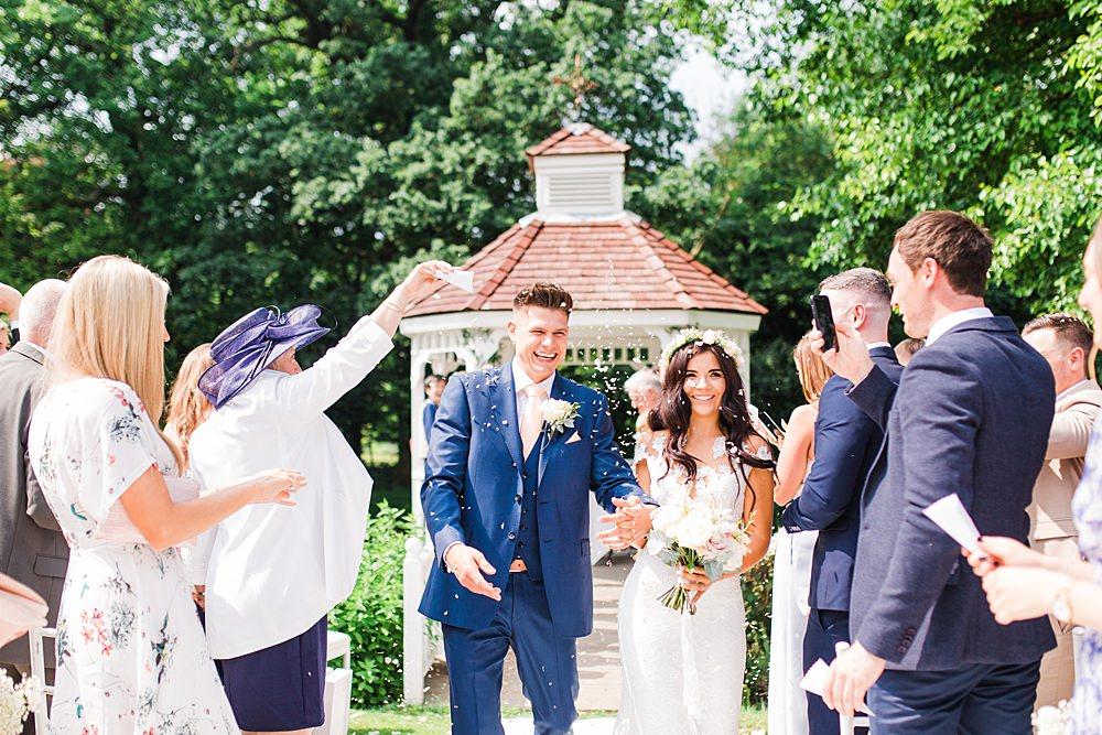 Confetti Sheene Mill Wedding Terri & Lori Photography and Film Studio