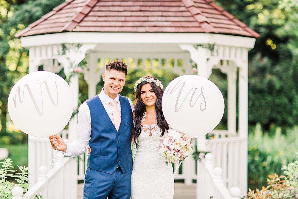 Mr Mrs Balloons Giant Sheene Mill Wedding Terri & Lori Photography and Film Studio