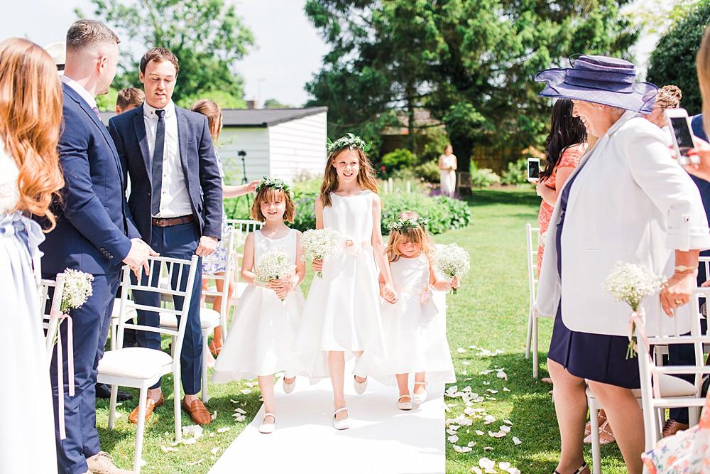 Flower Girls Flower Crowns Sheene Mill Wedding Terri & Lori Photography and Film Studio